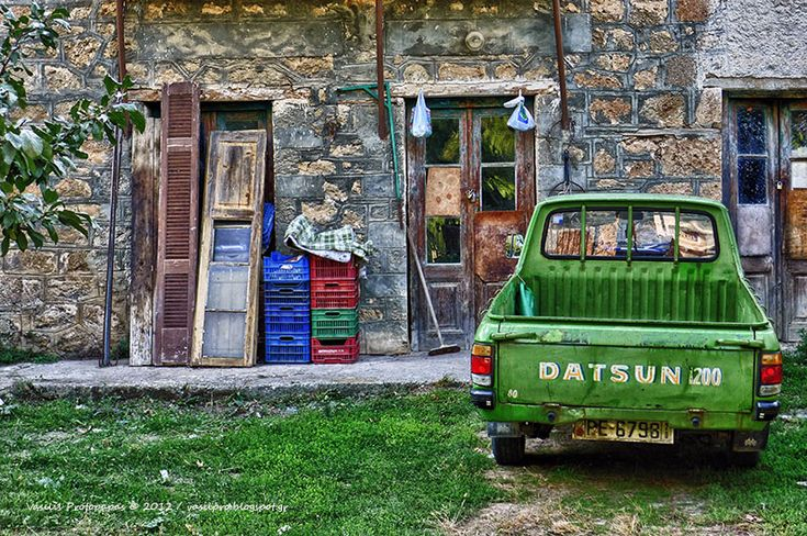 Back to time - Eurostini village, Korinthia