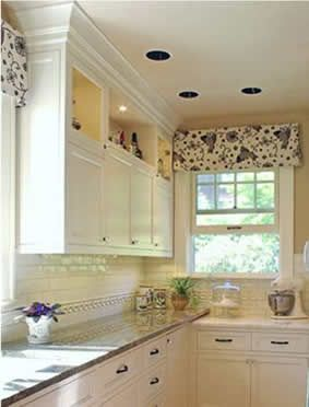 Kitchen window treatment ideas window treatment ideas for Contemporary kitchen window treatment ideas