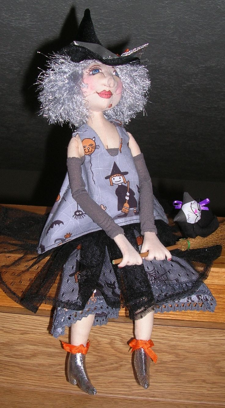 16 inch witch doll from Charlie Patricolo pattern.