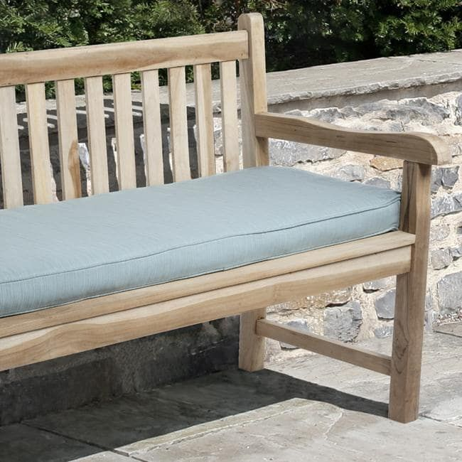 Clara 60-inch Outdoor Textured Bench Cushion Made with Sunbrella