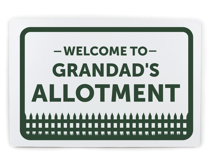 Welcome To Plaque Now £18 Is grandad helping out with the kids this summer holidays? Showing the grandkids how nice it is to be in the outdoors. This personalised welcome sign would be a great gift to show some appreciation 👴 KLife Kleeneze #nationalallotmentweek