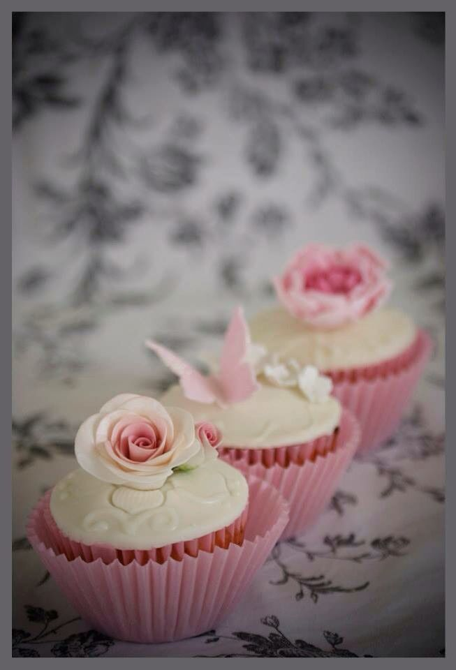 Cupcakes florales!