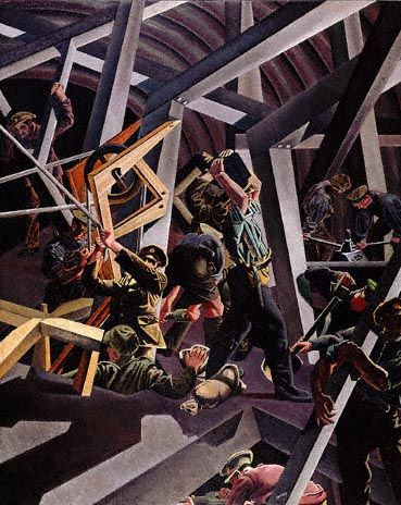 David Bomberg, Sappers at Work - A Canadian Tunneling Company