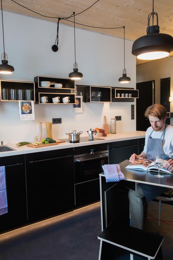 65 best Mini-Kitchen mini space images on Pinterest   Small kitchens ...