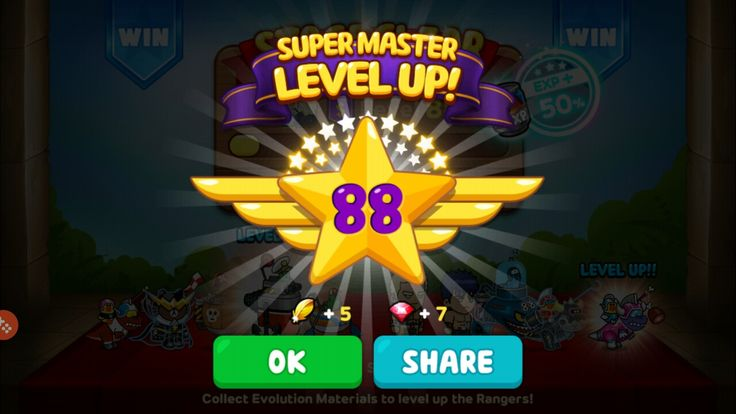 Attained Super Master Level 88! #milestone #super #master #levelup #88 #linerangers