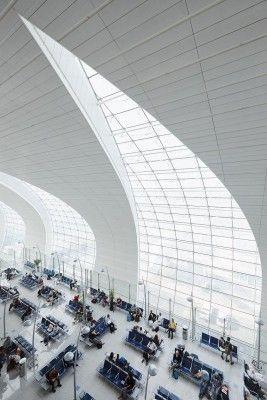 Dubai International Airport (DXB), Dubai UAE - is an architectural gem!