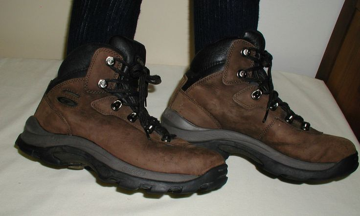 HI TEC Hiking Boots MEN's 8 Altitude IV #41100 Waterproof Walking Winter #HITEC #Hiking