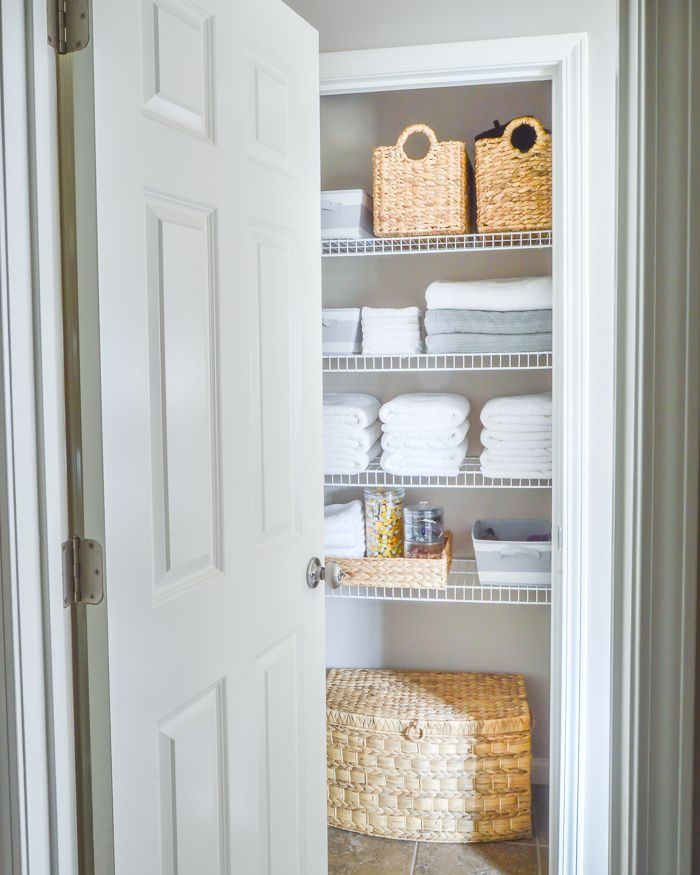Closet Bathroom Ideas: 25+ Best Ideas About Linen Closets On Pinterest