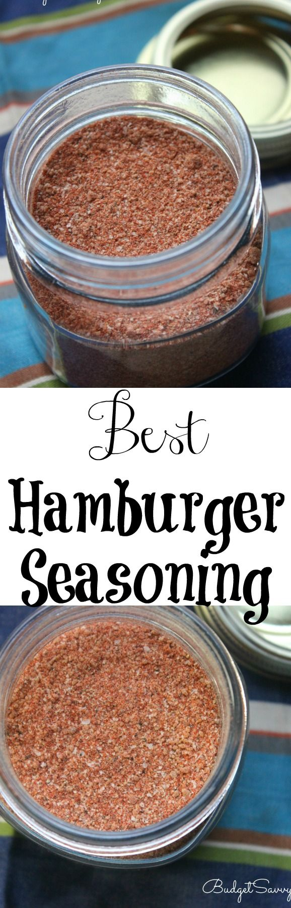 Best Hamburger Seasoning Recipe   1 teaspoon paprika 1 teaspoon ground black pepper ½ teaspoon salt ½ teaspoon dark brown sugar ⅛ teaspoon garlic powder ⅛ teaspoon onion powder ⅛ teaspoon ground cayenne pepper Instructions Combine all ingredients together. Sprinkle seasoning on burgers before cooking