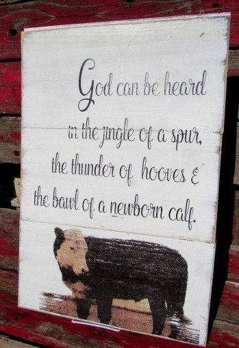 God be heard sign-shiplap-14x21-hereford by FarmHandsDesigns