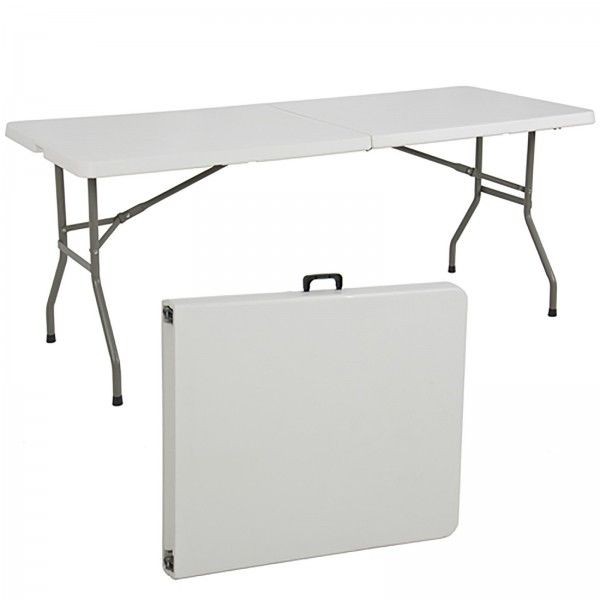 Single 6 Portable White Folding Table Brand New 4ft This Is