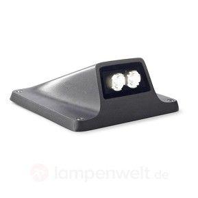 Akzentvolle LED-Sockelleuchte Rexel