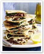 Mince around the world: Lamb and spinach gozleme recipe - 9Kitchen