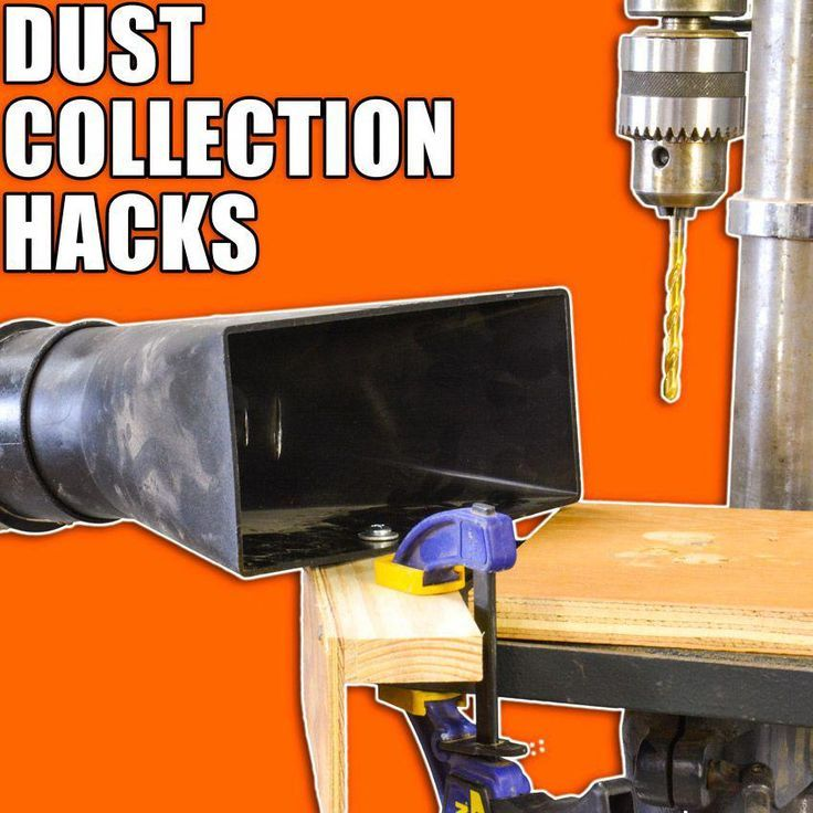 5 Quick Dust Collection Hacks Woodworking Tips And Tricks Woodworking Techniques Woodworking Tips Learn Woodworking