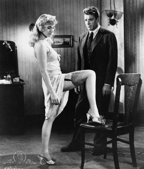 ELMER GANTRY (1960) - Prostitute Shirley Jones tempts preacher - Based on novel by Sinclair Lewis - Directed by Richard Brooks - United Artists - Publicity Still.