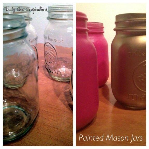 Prøv å mal feks et Norgesglass med LADY Design gull eller kobber.