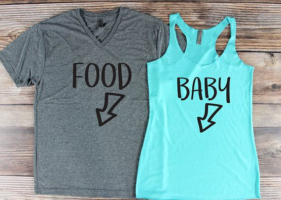 Pregnancy Announcement Shirt/ Couple Pregnancy Announcement/