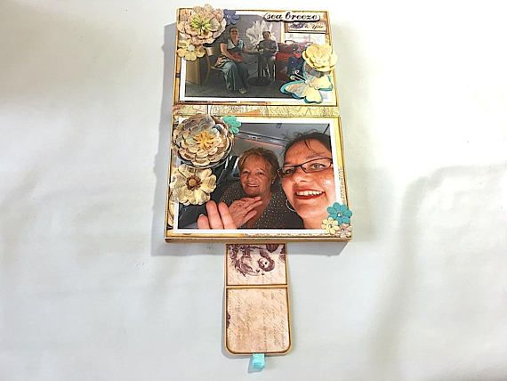 Picture opportunity: when you open up the twin-sleeved pouches of my Storage-in-Storage keepsake box!