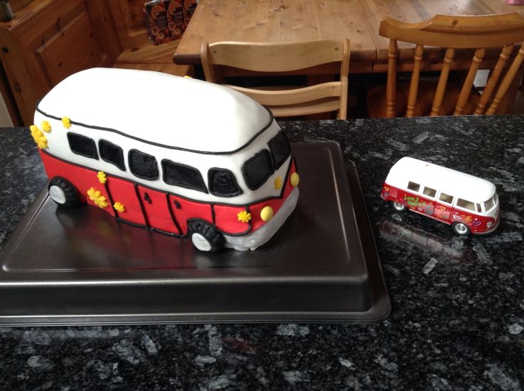 Hippie Bus Cake