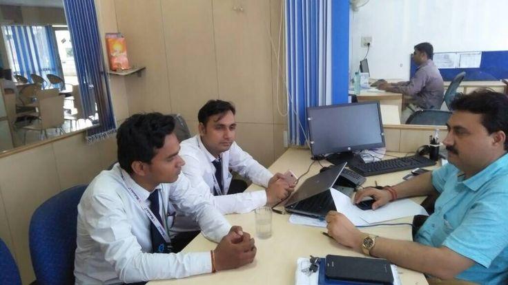 Met Regional manager of Bajaj Allianz for placement and RPL.  #PMOIndia #RajivPratapRudy #SkillIndia #NSDC National Skill Development Corporation #PMKVY #PMKK