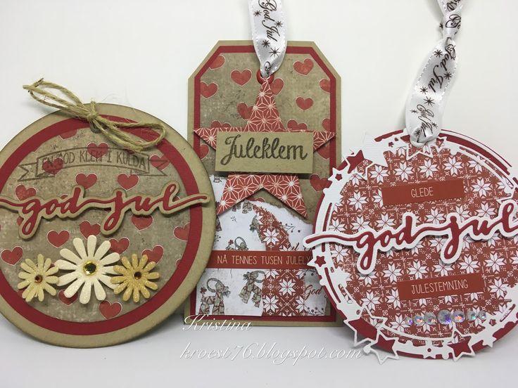 Pakkelapper, Papirdesign, jul