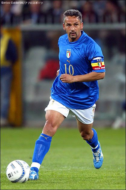 Roberto Baggio. Only my favorite soccer player of all time.