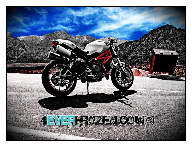 Ducati @ Red Rock Canyon by https://www.facebook.com/pages/4-Ever-Frozen-Photography/293178947399001