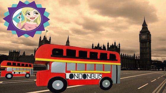 DiY Ônibus de Londres - London Bus