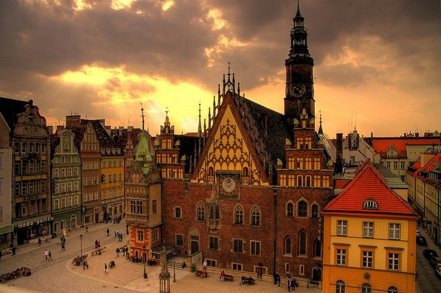 Wroclaw Old Town Hall, Wroclaw, Poland. So beautiful. One of my favorite places!