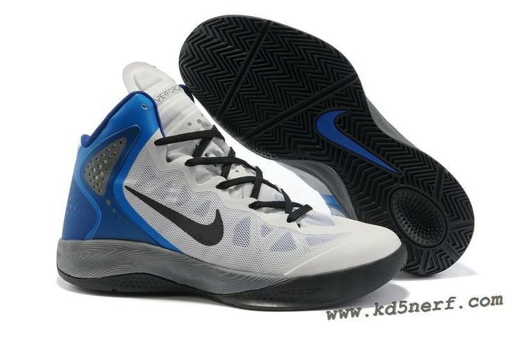Nike Zoom Hyperenforcer Shoes In White Black Blue 2013