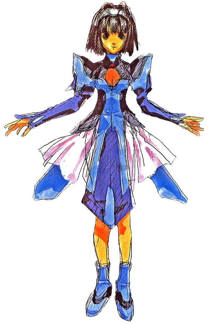 Xenogears Character Design : Best chicas de anime girls images on pinterest