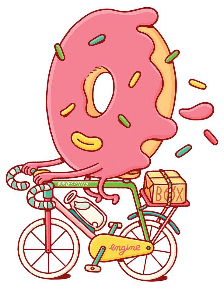 Пончик смешной картинки