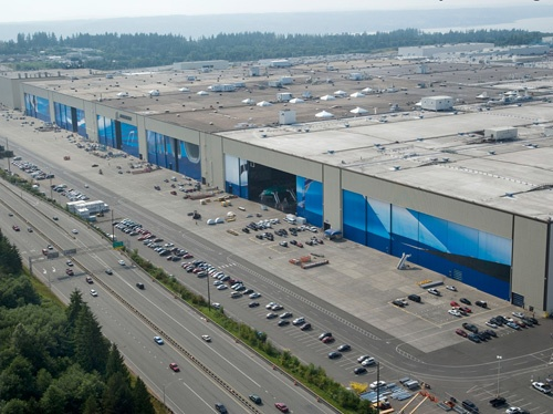 Largest building in the world - The Boeing Facility in Everett, WA