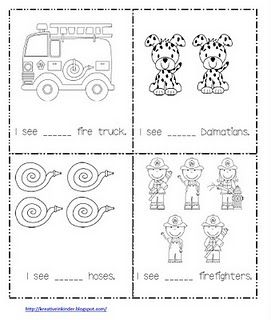 Math Worksheet for Fire Safety Week!