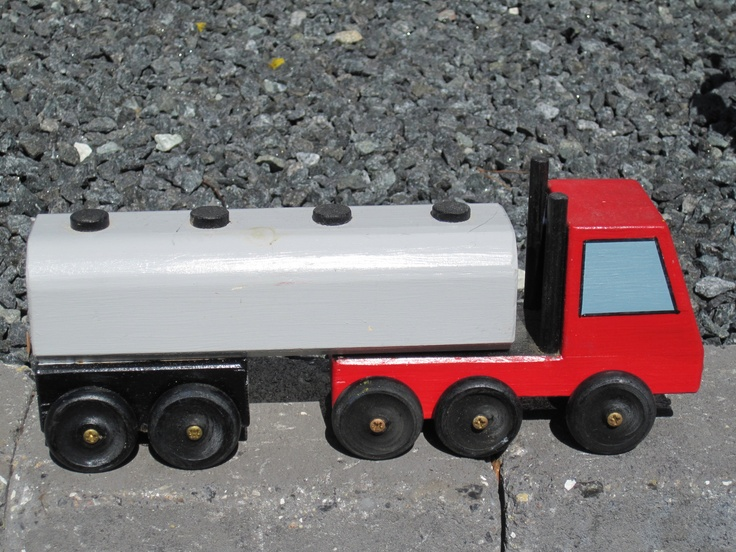 Homemade truck. Made by my father. #homemade #woodentoy #truck