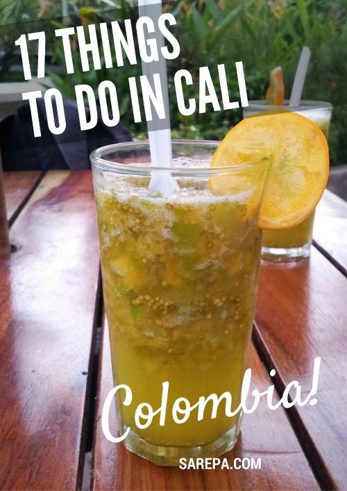 17 Things to do in Cali, Colombia. Read more: http://www.sarepa.com/2016/04/27/things-to-do-in-cali-colombia/