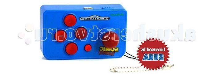 Sega Игровая консоль Genesis Nano Sonic 10 игр