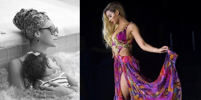 Beyoncé Knowles ama da sempre postare le sue immagini su Tumblr,la vediamo insieme al marito Jay-Z nella jacuzi con la figlia e sul palco  http://www.sfilate.it/193708/beyonce-knowles-dalla-pausa-nella-jacuzi-al-palco