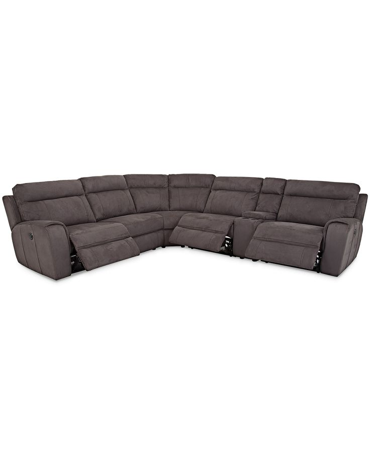 Best Torie 6 Piece Sectional With 3 Power Motion Recliners 640 x 480