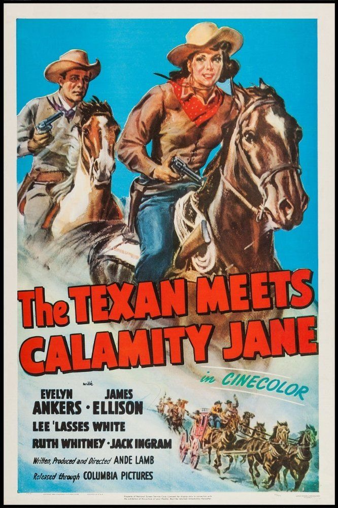 Evelyn Ankers and James Ellison in The Texan Meets Calamity Jane (1950)