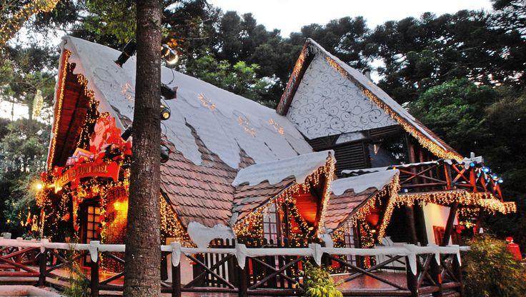 Casa do Papai Noel.