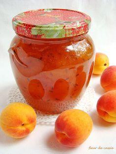 варенье абрикосовое с лавандой
