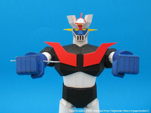 PAPERINVADERS - Mazinger Z