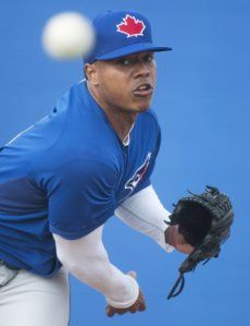 Blue Jays pitcher Marcus Stroman embracing emotion of bittersweet day Marcus Stroman #MarcusStroman
