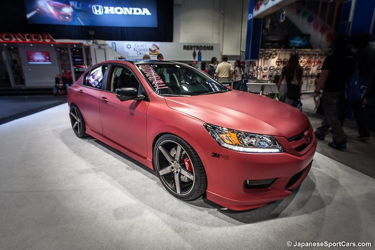 MAD Industries Custom Matte Wrapped 2013 Honda Accord Sedan with ...