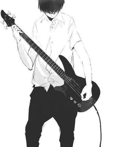 Resultado de imagen para boy with a bass draws