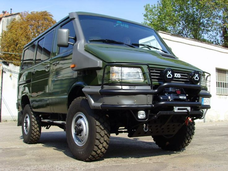 Iveco Daily 4x4 These Would Be So Rad In The States