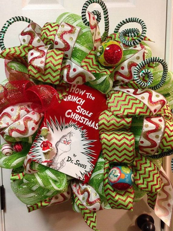 Grinch How the Grinch Stole Christmas by MaDoorableCreations, $130.00