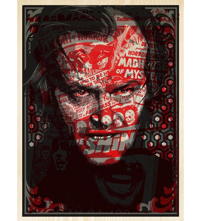 Great Movie... Alternative Movie Poster For The Shining By