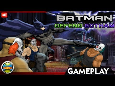Batman Defend Gotham - Browser Games Online